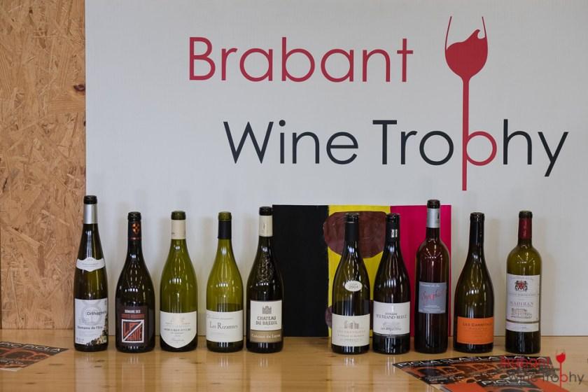 Brabant Wine Trophy 2018 - Les 10 cuvées sélectionnées