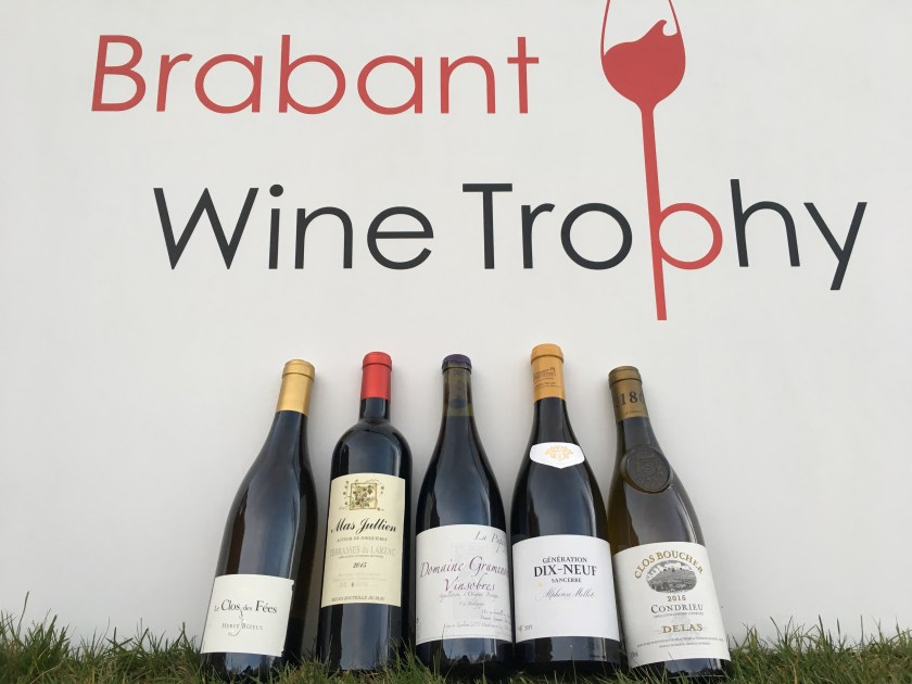 Lots du Brabant Wine Trophy 2019 - 5 belles bouteilles à gagner
