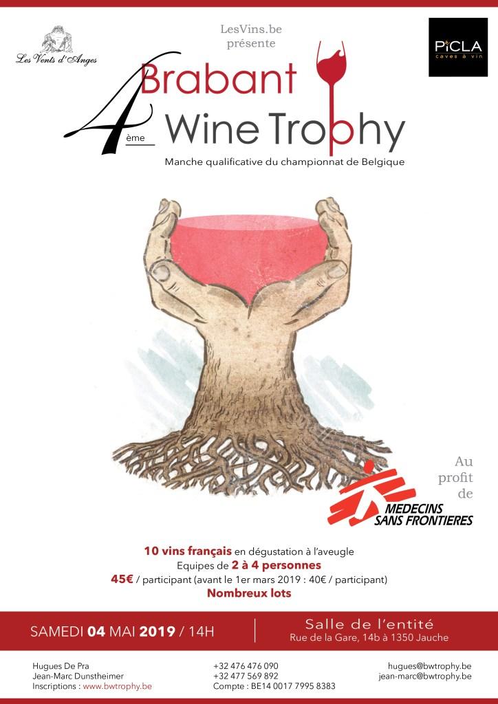 Brabant Wine Trophy 2019 - Affiche signée Dimitri Piot