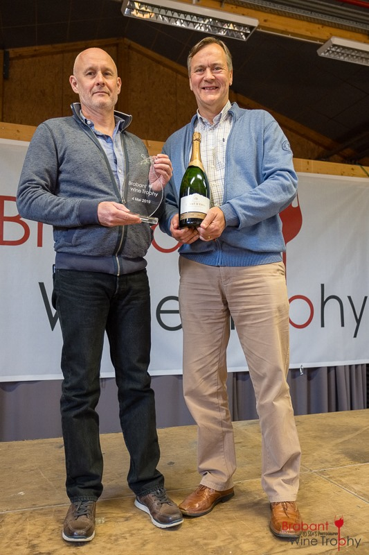 Les gagnants du Brabant Winte Trophy 2019: Eric Serret & Philippe Pottier