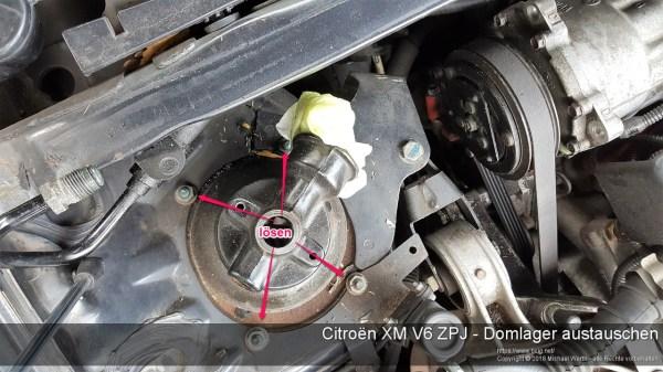 Citroen XM V6 ZPJ - Domlager austauschen-16