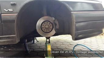 Citroen XM V6 ZPJ - Domlager austauschen-8