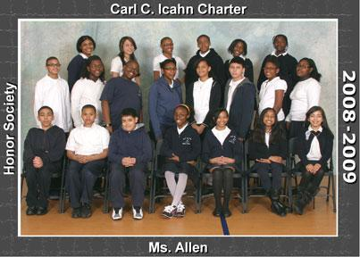 Icahn Charter 1 inducts Natl Jr Honor Society students  Bronx Times