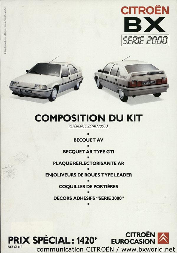 BX Série 2000