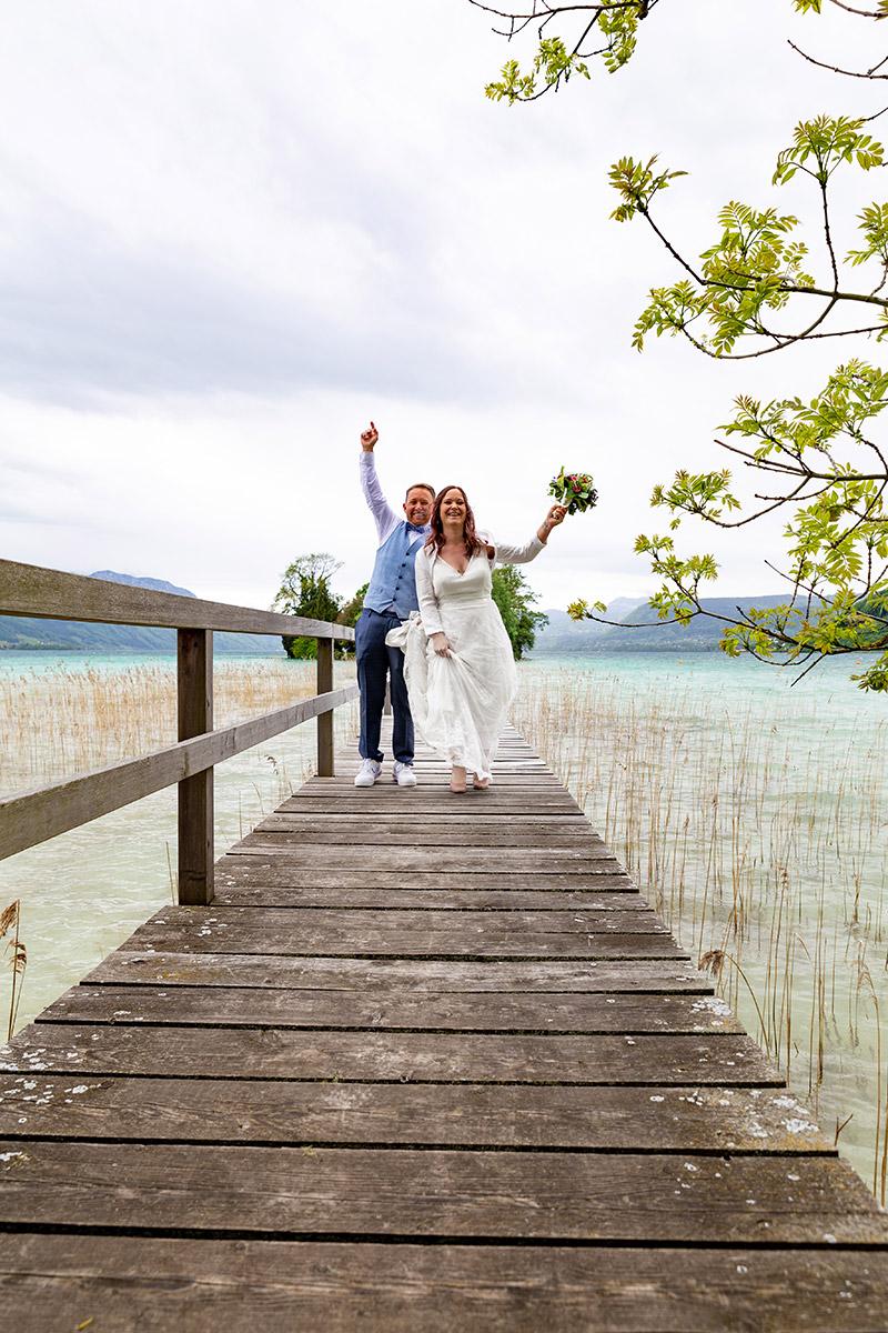Brautpaar am Attersee