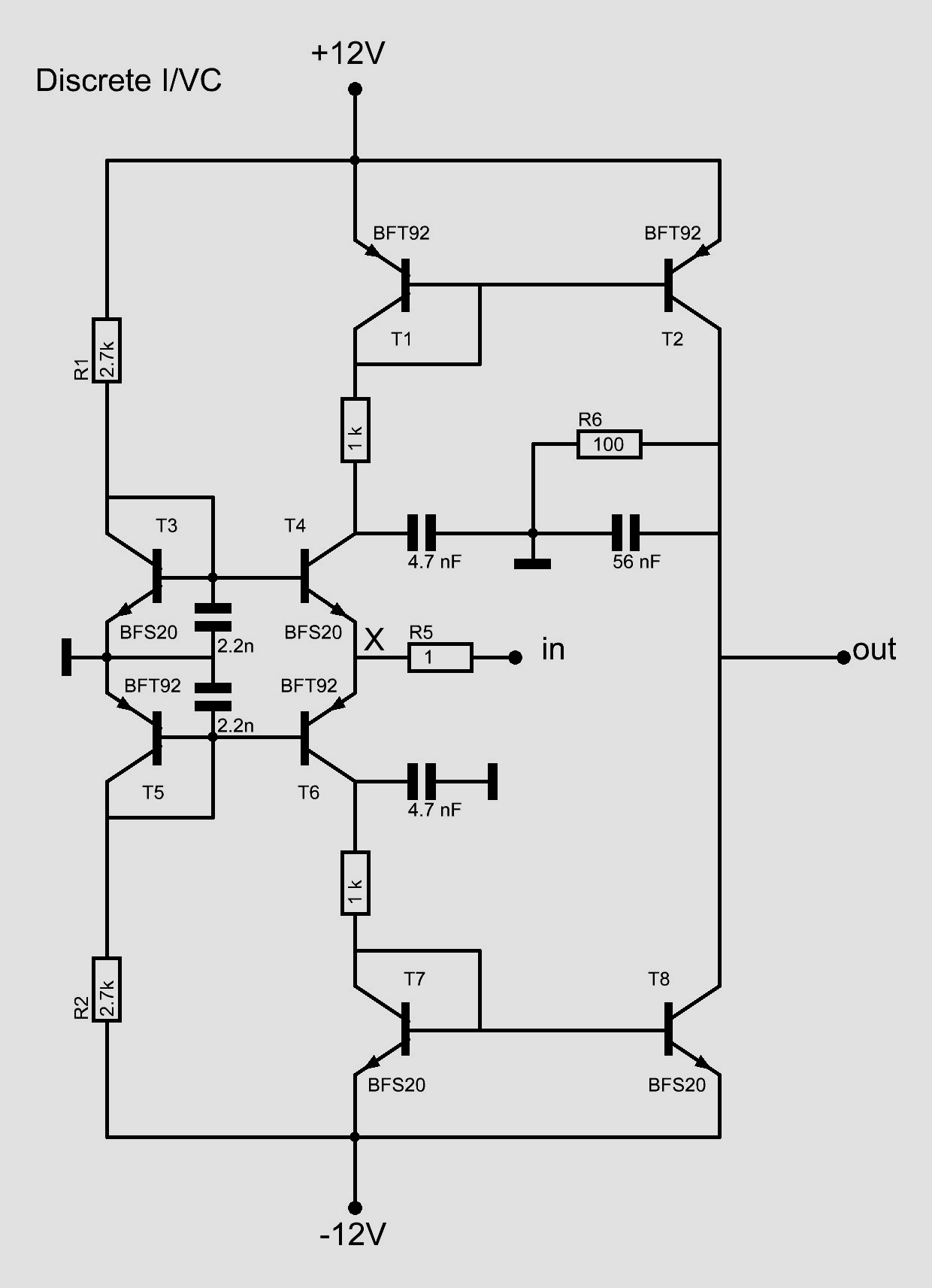 R5 Is Used To Get A First Idea Of The Input Impedance In