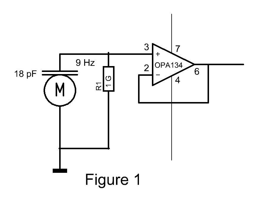Figure 2 Typical Electret Condenser Power And