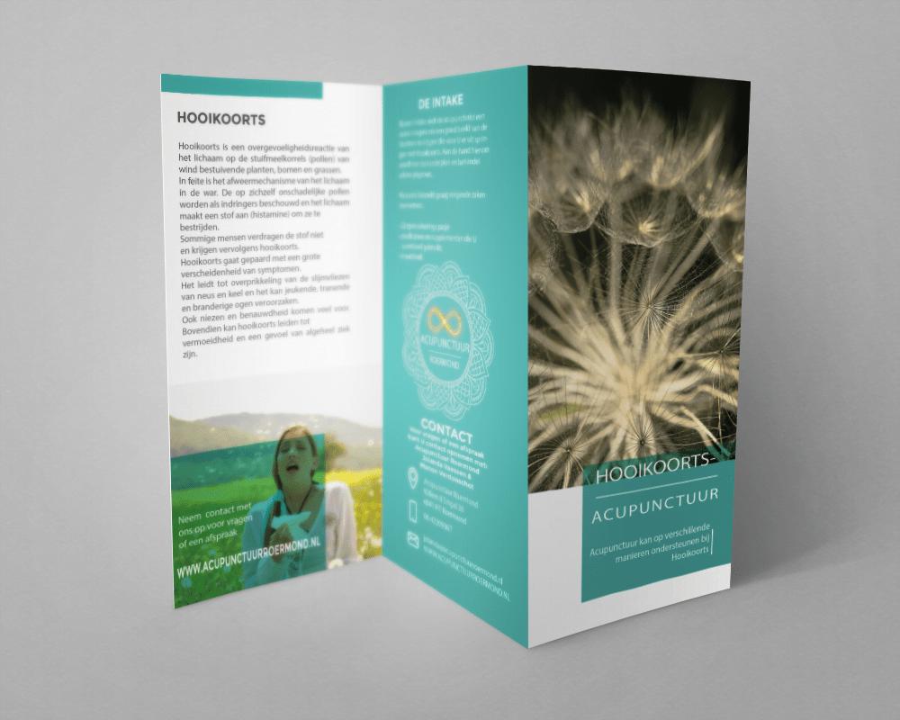 Brochure Hooikoorts |by-spiritdesign.com