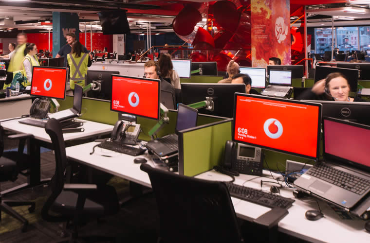 Vodafone Call Centre  Architecture projects including