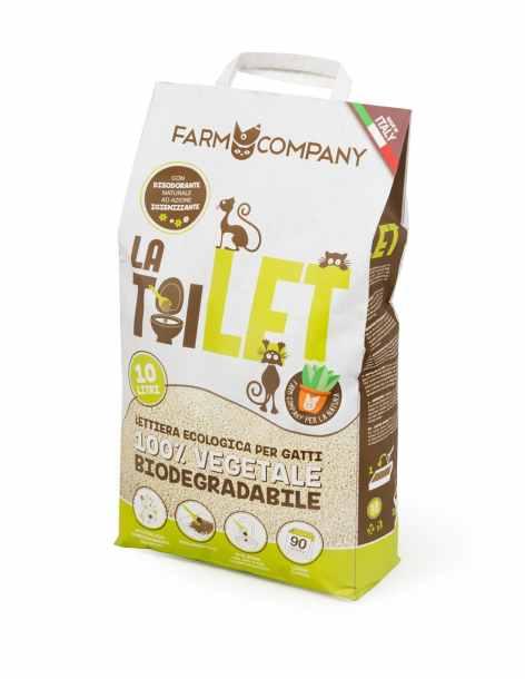 Lettiera Vegetale Biodegradabile La Toilet