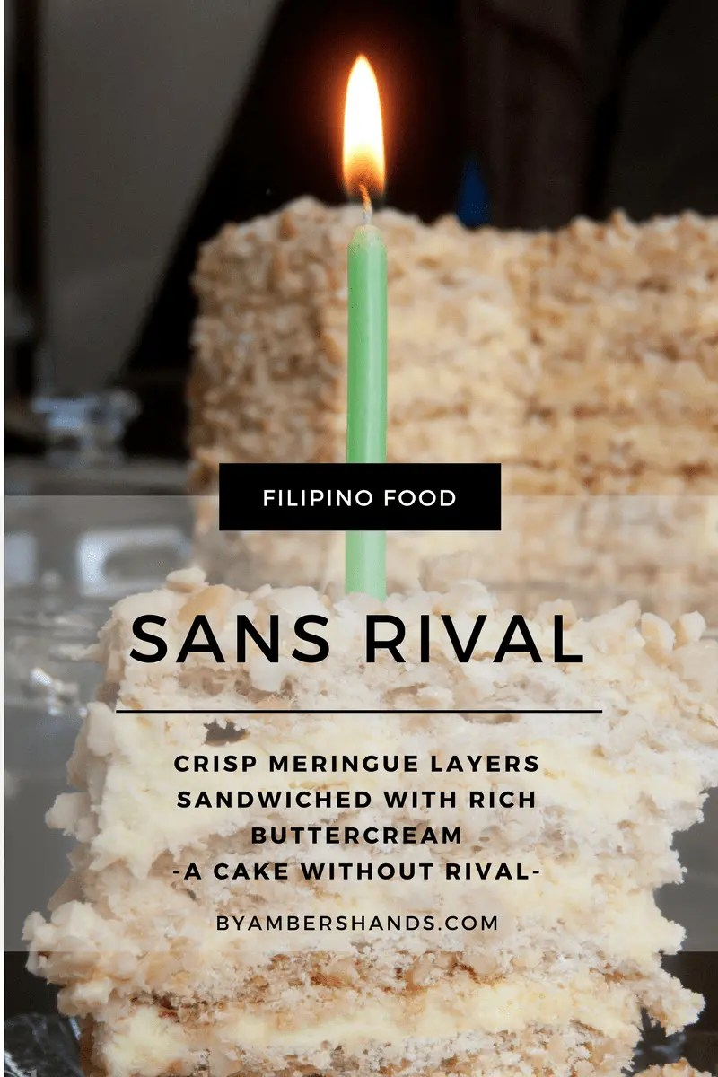 Sans Rival -by amber's hands-