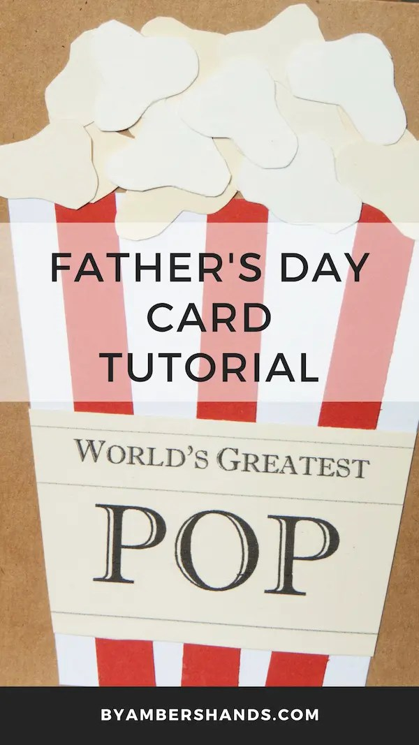 World's Greatest Pop Card -by amber's hands-