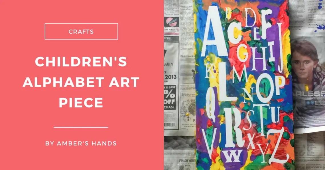 Children's Art Piece -For Kids, By Kids -by amber's hands-