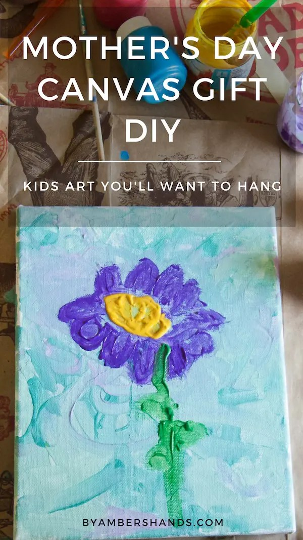 Kids Art Project Hanging