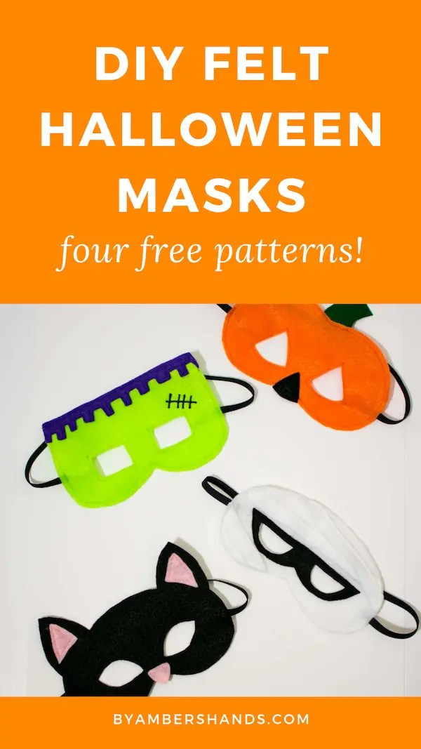 An easy beginner sewing project with free patterns! #sewing #halloween #kids