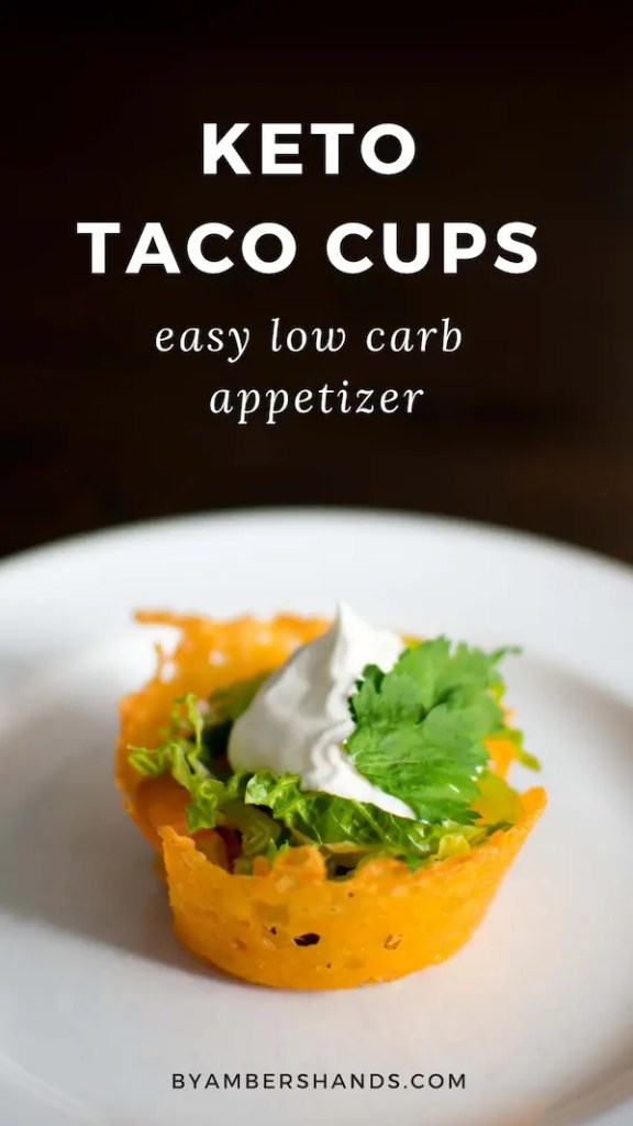 These ridiculously easy Keto Taco Cups are the perfect appetizer for your next party or game day! They also make a fun, family-friendly dinner option! #keto #lowcarb #dinner #appetizer #easy #superbowl #tacos