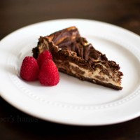 Keto Marble Cheesecake