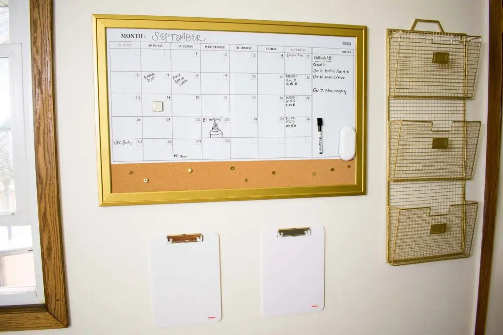 Creating a Family Command Center -by amber's hands-