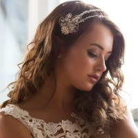 A Twist of Elegance Wedding Hair Band