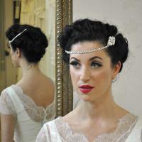 Wedding Hair Chain - Beyond Time - Handmade