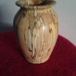 trædrejning woodturning vase træ