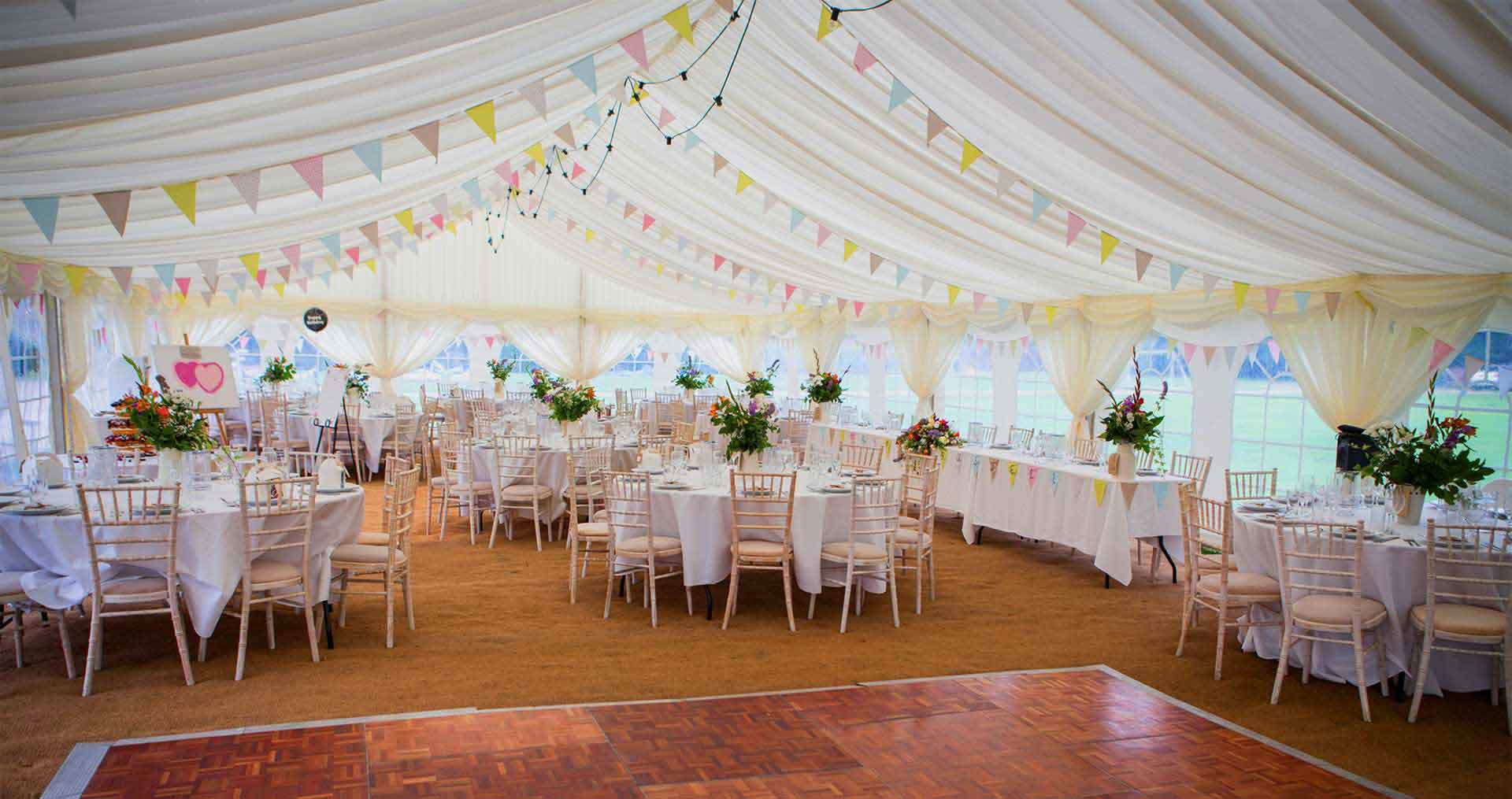 wedding chair covers melton mowbray round dining table with fabric chairs event hire in the midlands bybrook furniture and