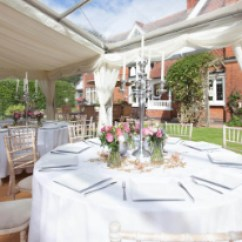 Chair Cover Hire Melton Mowbray Summer Bentwood High Table Linen Bybrook Covers