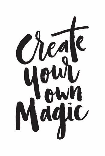Create your own magic Kaart  By Caitlin