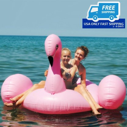 Giant Inflatable Leisure Flamingo Pool Float