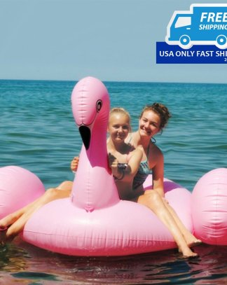 Giant Inflatable Leisure Flamingo Pool Float