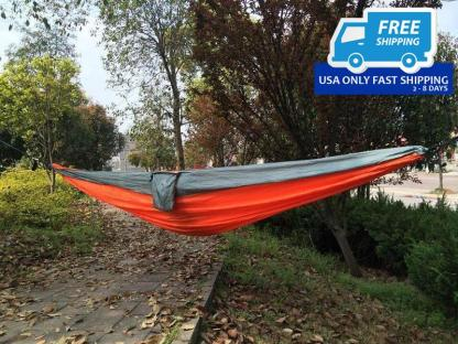 Outdoor Double Person Parachute Nylon Fabric Hammock