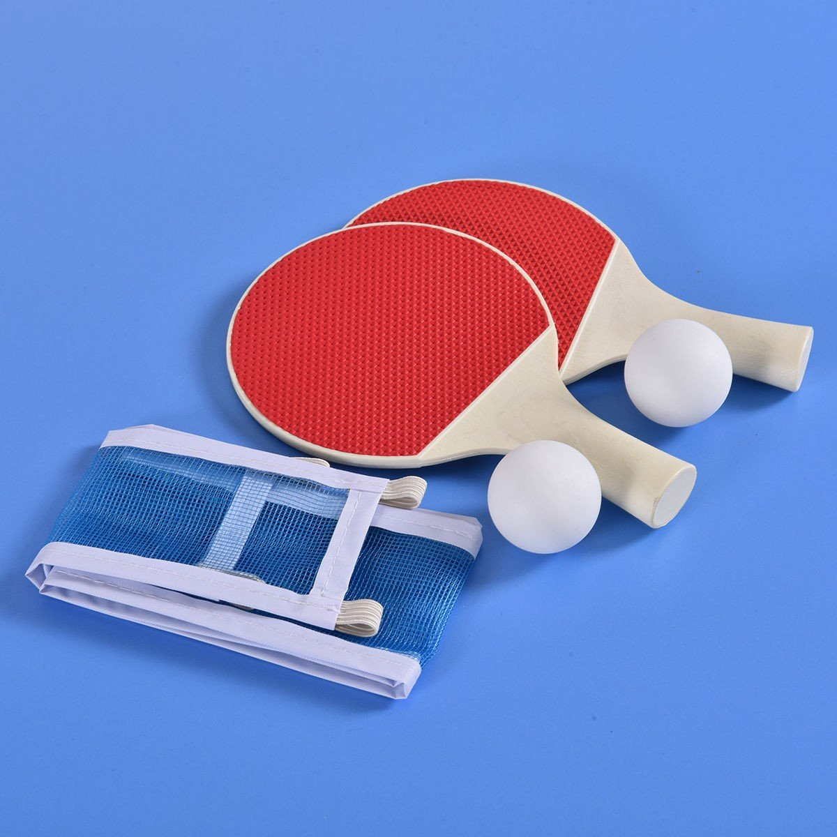 60u201d Portable Table Tennis Ping Pong Folding Table W/Accessories Indoor Game