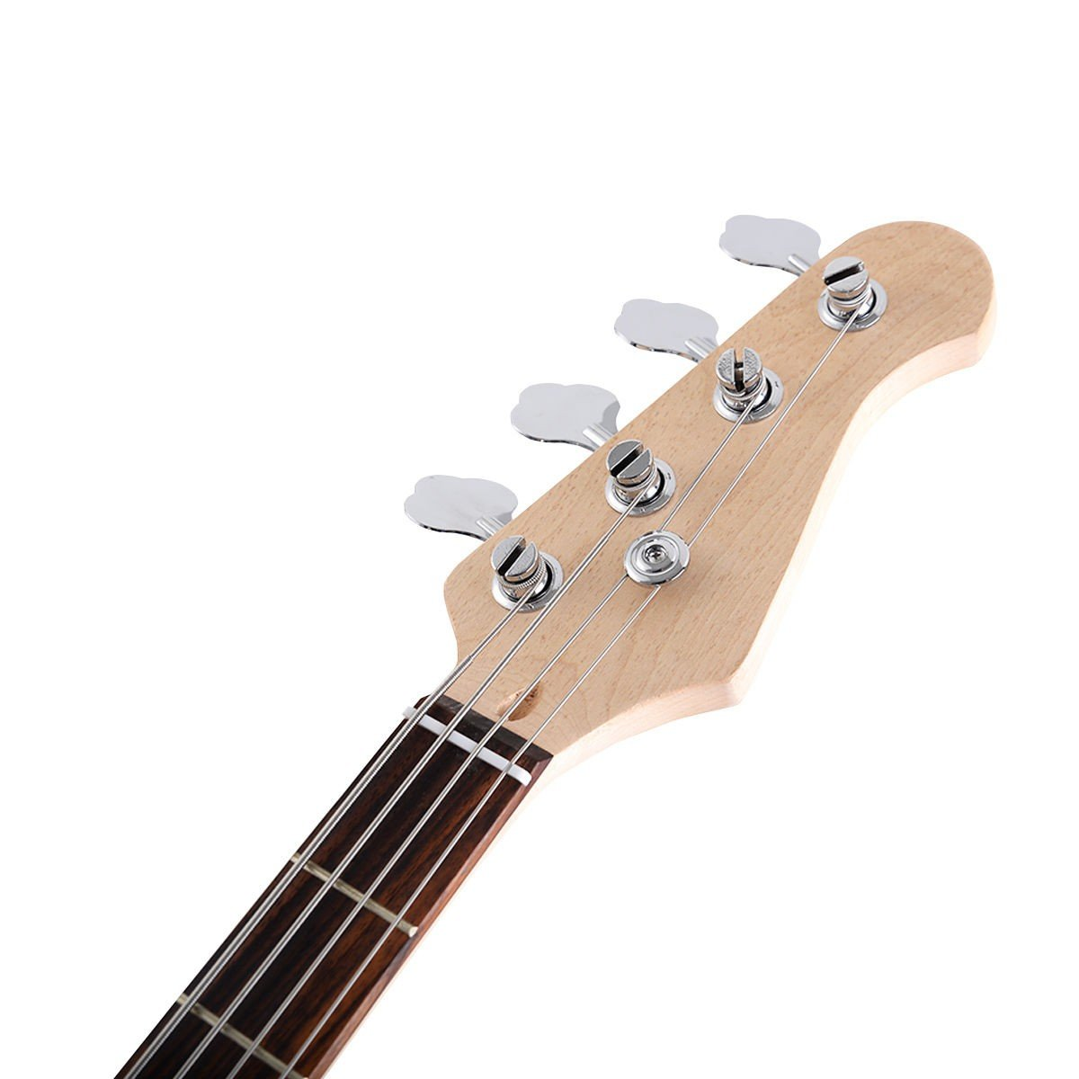 full size 4 string electric bass guitar with strap bag by choice products. Black Bedroom Furniture Sets. Home Design Ideas