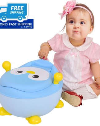 Penguin Portable Baby Seat Trainer Potty Toilet
