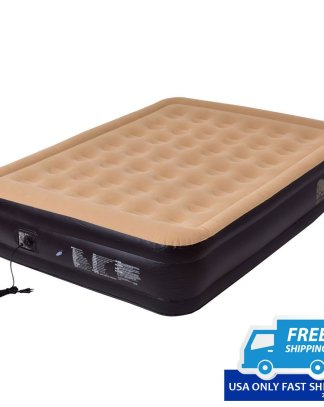 Queen Size Inflatable Mattress with Built in Electric Pump