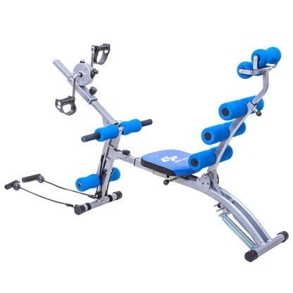 Multi-functional Twister AB Rocket Abdominal Trainer Bench Stepper