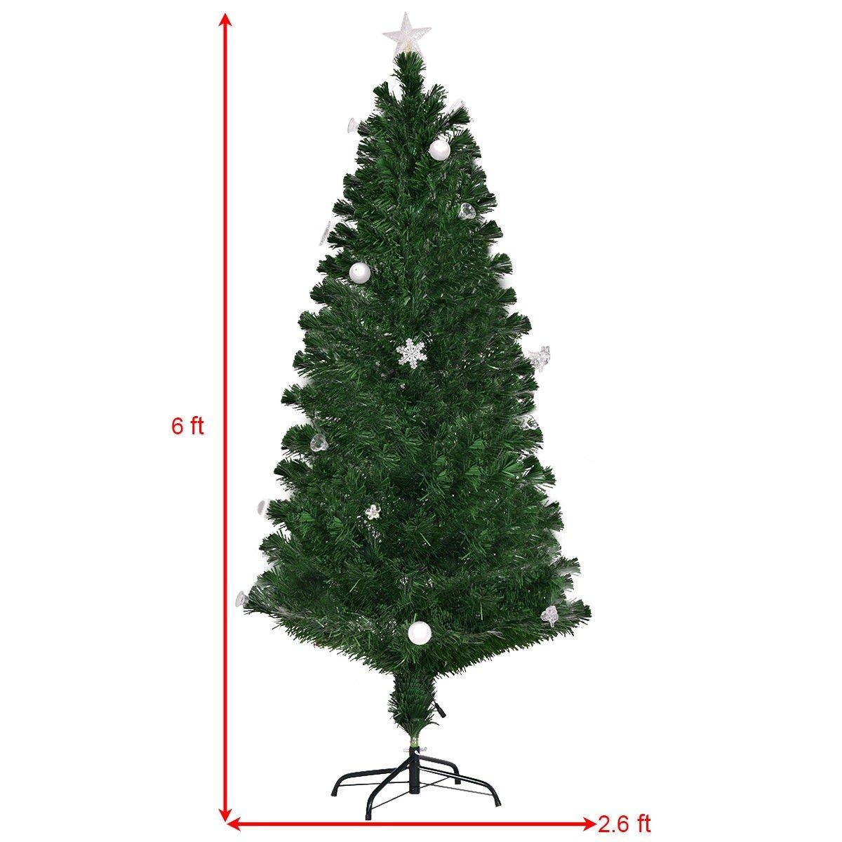 7 5 Fiber Optic Christmas Tree