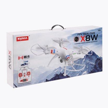 Syma X8W 4CH Gyro RC Quadcopter Explorers Drone with WiFi FPV 2MP Camera RTF