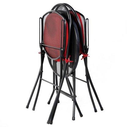 3 pcs Folding Mesh Outdoor Patio Seat