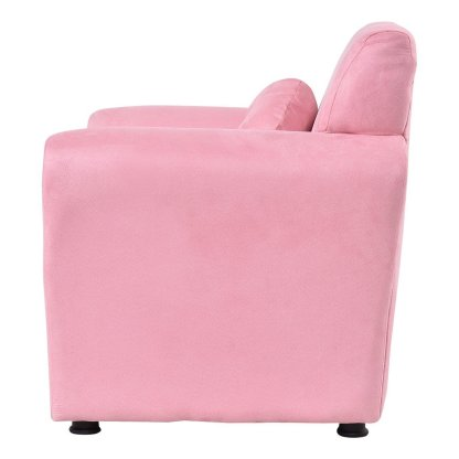 Living Room Armrest Chair Kids Sofa with Pillow