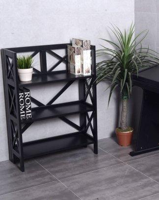 3-Tier Folding Bookshelf