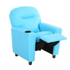 Sofa Armrest With Cup Holder Flexsteel Sofas Reviews Children Recliner Arm Chair  By