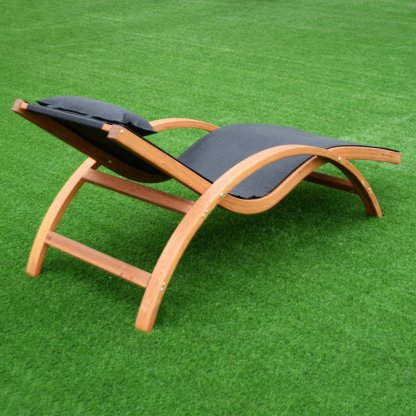 Outdoor Lounge Chair with Headrest