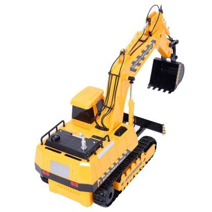 1/18 5CH Remote Control RC Excavator Construction Bulldozer Digger Truck