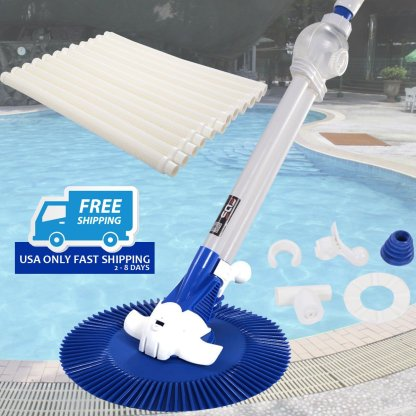 Automatic Inground Above Ground Swimming Pool Cleaner Vacuum Hose Climb Wall New