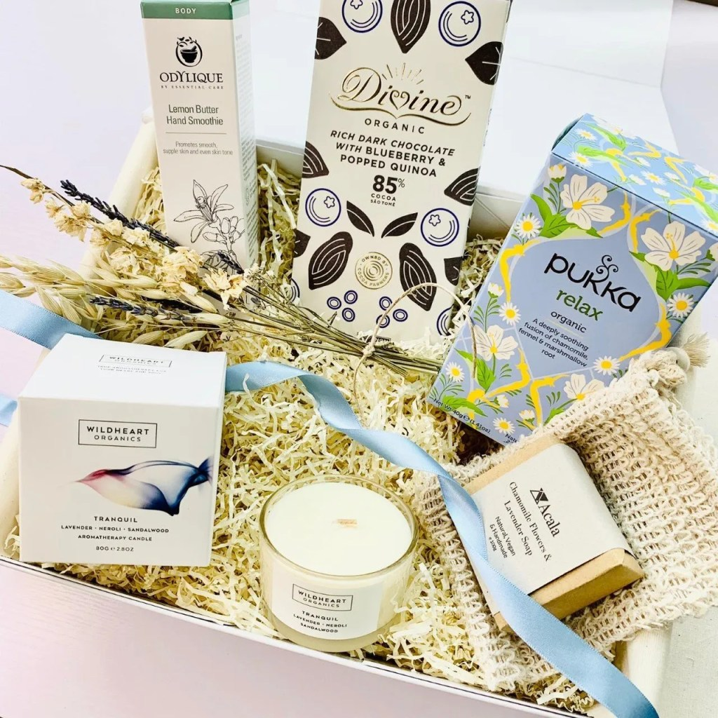 Relax & Pamper Deluxe Gift Box by Amala Curations by MG