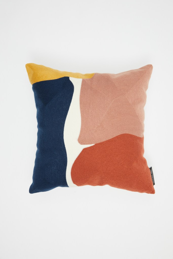 Crescence Home Modern Abstract Cushion Cover, Multi colour