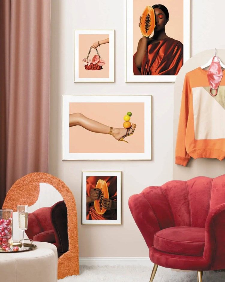 Desenio Fruits and Flowers Gallery Wall