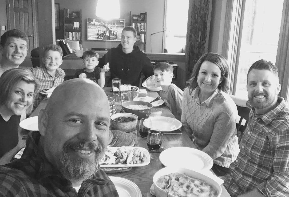 Lyn's Thanksgiving with dear friends