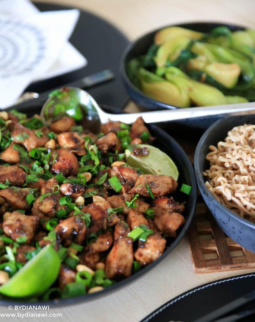 kylling, opskrifter, aftensmad, nudler